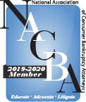 National Association of Consumer Bankruptcy Attorney 2019-2020 Member